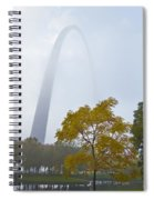 Arch In The Fog Spiral Notebook