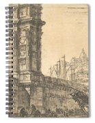 Arch Of Trajan In Ancona  Spiral Notebook
