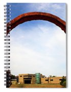 Arch Over Ncma Spiral Notebook