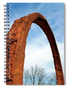 Arch Over Trees Spiral Notebook