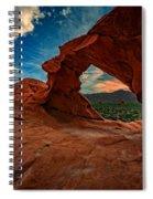 Arch Rock Spiral Notebook