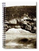 Arch Rock, Santa Cruz, California Circa 1900 Spiral Notebook