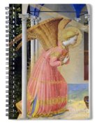 Archangel Gabriel Spiral Notebook