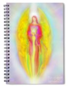Archangel Michael In Quiet Contemplation  Spiral Notebook