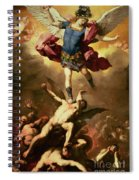 Archangel Michael Overthrows The Rebel Angel Spiral Notebook