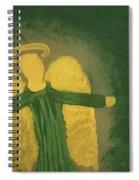 Archangel Raphael  Spiral Notebook