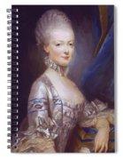 Archduchess Maria Antonia Of Austria 1769 Spiral Notebook