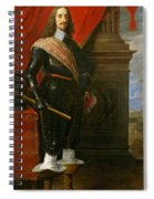 Archduke Leopold Wilhelm With The Siege Of Gravelingen Spiral Notebook