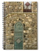 Arched Door And Window Spiral Notebook
