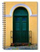 Arched Doorway Spiral Notebook