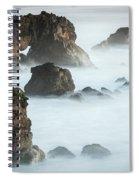 Arched Rock Sea Bird Spiral Notebook