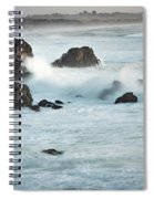 Arched Rock Wave Break Spiral Notebook