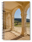 Arches And Stairs Of Derelict Agios Georgios Church Spiral Notebook