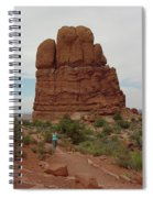 Arches Formation 23 Spiral Notebook