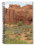 Arches Formation 31 Spiral Notebook