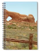 Arches Formation 35 Spiral Notebook