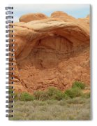 Arches Formation 36 Spiral Notebook