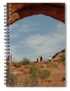 Arches Formation 38 Spiral Notebook