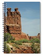 Arches National Park 3 Spiral Notebook