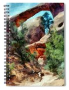 Arches National Park Trail Spiral Notebook
