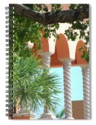 Arches Thru The Trees Spiral Notebook