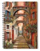 Archetti In Rosso Spiral Notebook
