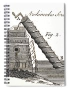 Archimedes Screw, 1769 Spiral Notebook