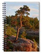 Archipelago Sunset Spiral Notebook