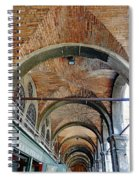 Architectural Ceiling Of The Building Owned By The Rialto Market In Venice, Italy Spiral Notebook