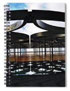 Architectural Detail Abstract Spiral Notebook