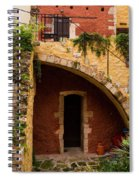 Architectural Details In Chania Spiral Notebook