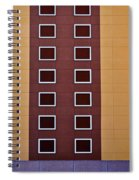 Architectural Geometry Spiral Notebook