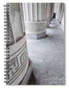 Architectural Pillars Spiral Notebook