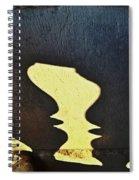 Architectural Shadows Spiral Notebook