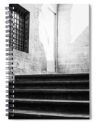 Architectural Stone Stairs Spiral Notebook