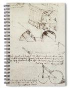Architectural Study Spiral Notebook