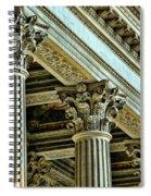 Architecture Columns Palace King Louis Xiv Versailles  Spiral Notebook
