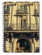 Architecture In Paris Spiral Notebook