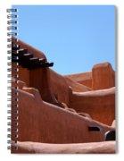 Architecture In Santa Fe Spiral Notebook