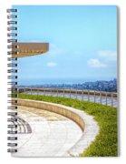 Architecture J. Paul Getty Museum California  Spiral Notebook