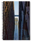 Architecture New York City The Crossing  Spiral Notebook