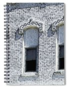 Architecture Of A Small Town2 Spiral Notebook