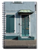 Architecture Of The French Quarter In New Orleans Spiral Notebook