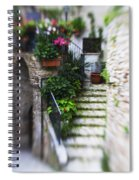Archway And Stairs Spiral Notebook