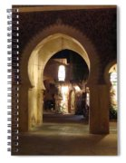 Archways At Night Spiral Notebook