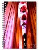 Archways Of St.john The Divine Spiral Notebook