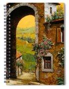 Arco Di Paese Spiral Notebook