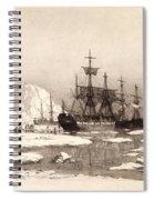 Arctic Ocean Spiral Notebook