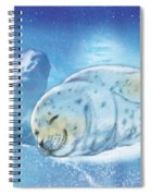 Arctic Seal Spiral Notebook