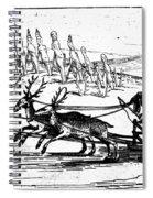 Arctic Sledding, C1618 Spiral Notebook